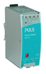 Power supply 1-phase for DIN-rails, 24 V DC Output current 2,5 A och 5 A